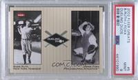 Babe Ruth, Jimmie Foxx [PSA9MINT]