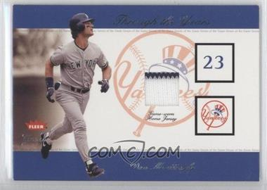 2002 Fleer Greats - Through the Years Memorabilia - Level 1 #DOMA - Don Mattingly