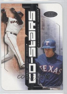 2002 Fleer Hot Prospects - Co-Stars #1CS - Barry Bonds, Alex Rodriguez