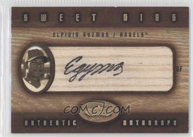 2002 Fleer Showcase - Sweet Sigs - Lumber #ELGU - Elpidio Guzman
