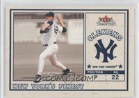 Mike Piazza, Roger Clemens (Mike Piazza Jersey)