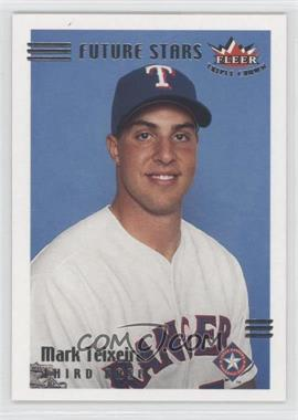 2002 Fleer Triple Crown - [Base] #213 - Mark Teixeira