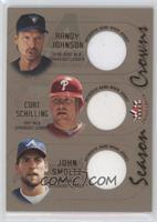Randy Johnson, Curt Schilling, John Smoltz /100