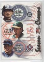 Ivan Rodriguez, Ichiro, Jason Giambi