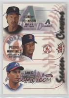 Randy Johnson, Pedro Martinez, Greg Maddux