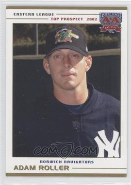 2002 Grandstand Eastern League Top Prospects - [Base] #ADRO - Adam Roller