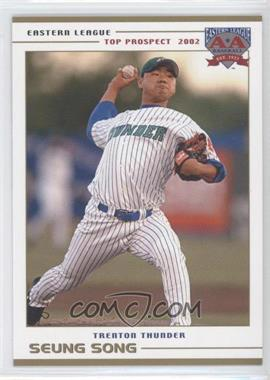 2002 Grandstand Eastern League Top Prospects - [Base] #SESO - Seung Song