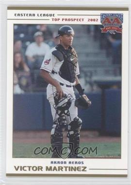 2002 Grandstand Eastern League Top Prospects - [Base] #VIMA - Victor Martinez