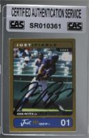 Jose Reyes [CAS Certified Sealed]