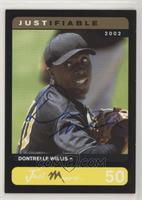Dontrelle Willis #/25