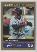 Carlos Duran /100