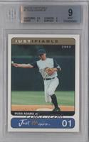 Russ Adams [BGS 9 MINT]