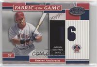 Garret Anderson /16