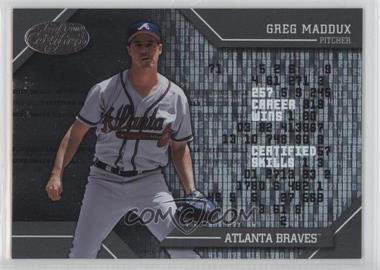 2002 Leaf Certified - Skills #CS-2 - Greg Maddux