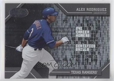2002 Leaf Certified - Skills #CS-7 - Alex Rodriguez