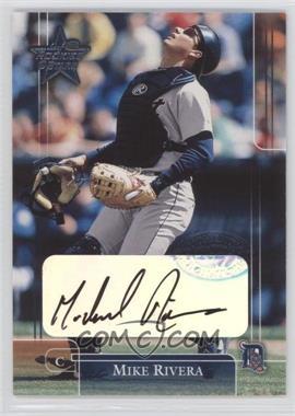 2002 Leaf Rookies And Stars - [Base] - Signatures [Autographed] #40 - Mike Rivera