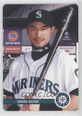 2002 Mother's Cookies Seattle Mariners - Stadium Giveaway [Base] #2 - Ichiro Suzuki