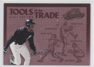2002 Playoff Absolute Memorabilia - Tools of the Trade #TT-50 - Kenny Lofton