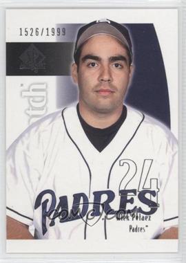 2002 SP Authentic - [Base] #217 - Alex Pelaez /1999