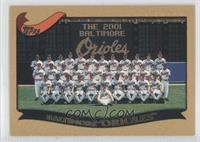 Baltimore Orioles Team #/2,002