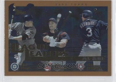 2002 Topps - [Base] #340 - Juan Gonzalez, Alex Rodriguez, Bret Boone