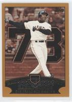 Barry Bonds (Race to Seventy Home Run #73)