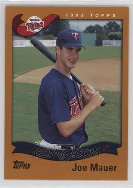2002 Topps - [Base] #622 - Joe Mauer