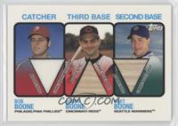 Bob Boone, Aaron Boone, Bret Boone
