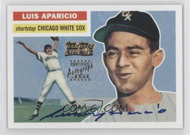 2002 Topps - Team Topps Legends Autographs #TT-LA - Luis Aparicio