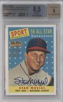 Stan Musial [BGS 8.5 NM‑MT+]