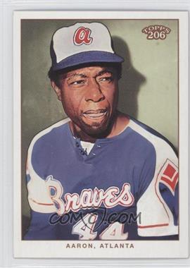 2002 Topps 206 - [Base] #287.2 - Hank Aaron (blue jersey)