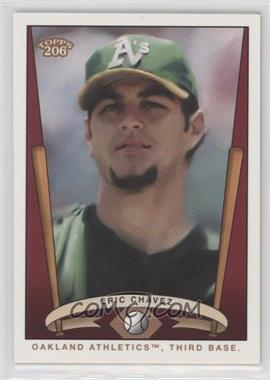 2002 Topps 206 - Team 206 Series 2 #T206-23 - Eric Chavez