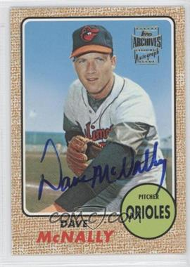 2002 Topps Archives - Autographs #TAA-DM - Dave McNally