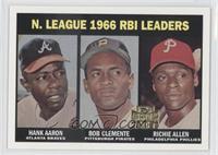 Hank Aaron, Roberto Clemente, Rich Allen