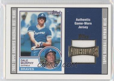 2002 Topps Archives - Uniform Relics #TUR-DM - Dale Murphy