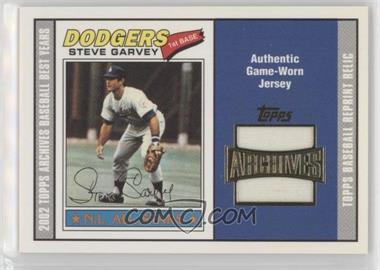 2002 Topps Archives - Uniform Relics #TUR-SG - Steve Garvey