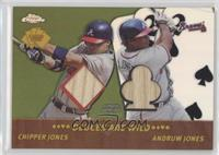 Chipper Jones, Andruw Jones