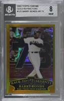 Barry Bonds [BGS 8 NM‑MT]