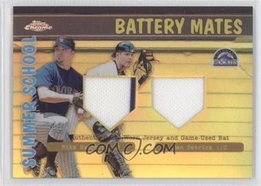 2002 Topps Chrome - Summer School Battery Mates - Refractor #BMC-HP - Mike Hampton, Ben Petrick