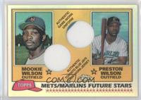 Mookie Wilson, Preston Wilson