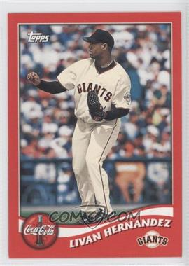 2002 Topps Coca-Cola San Francisco Giants - [Base] #11 - Livan Hernandez
