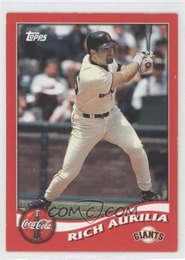 2002 Topps Coca-Cola San Francisco Giants - [Base] #2 - Rich Aurilia