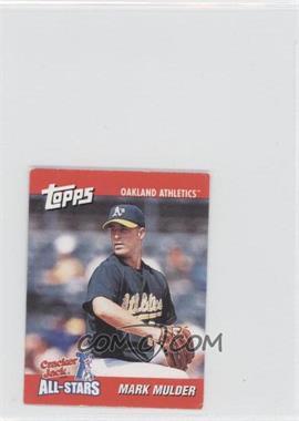 2002 Topps Cracker Jack All-Stars - Food Issue [Base] #12 - Mark Mulder