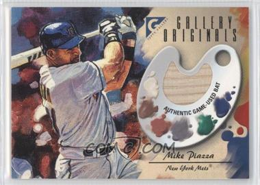 2002 Topps Gallery - Gallery Originals Bat #GO-MP - Mike Piazza