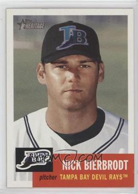 2002 Topps Heritage - [Base] #367 - Nick Bierbrodt
