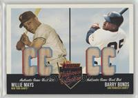 Willie Mays, Barry Bonds /53