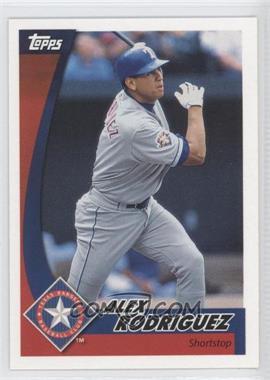 2002 Topps Post - [Base] #1 - Alex Rodriguez