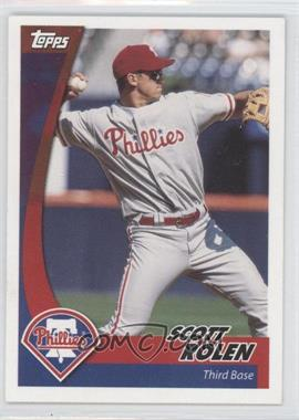 2002 Topps Post - [Base] #14 - Scott Rolen
