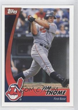 2002 Topps Post - [Base] #17 - Jim Thome