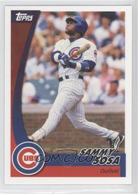 2002 Topps Post - [Base] #7 - Sammy Sosa